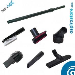 Set accessori pulizia Ø32 per Retraflex