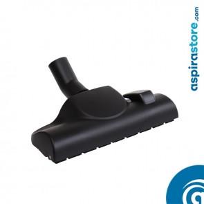 Spazzola doppio uso cm 30 pavimenti e tappeti con ruote Ø32