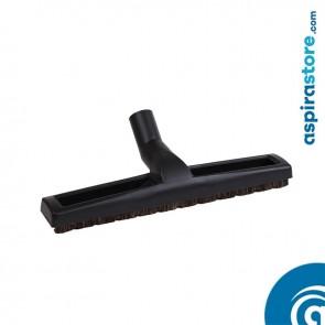 Spazzola per pavimenti cm 36 con ruote e setole Ø32