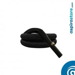 Tubo flessibile di ricambio per Wallyflex nero estensione fino a mt 8