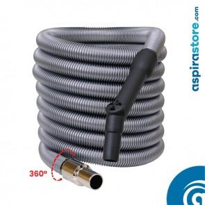 Tubo flessibile mt 8 standard con regolatore di pressione Ø32