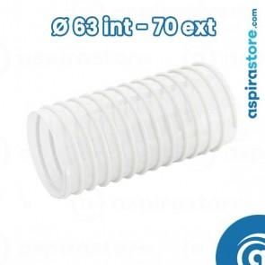 Tubo flessibile ventilazione vmc Ø 63 interno - diametro 70 esterno
