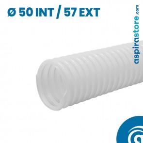 Tubo tondo flessibile leggero vmc diametro 50 interno 57 esterno