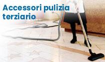 Accessori pulizia aspirazione centralizzata terziario alberghi