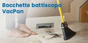 Bocchette aspiranti battiscopa e zoccolo cucina VacPan