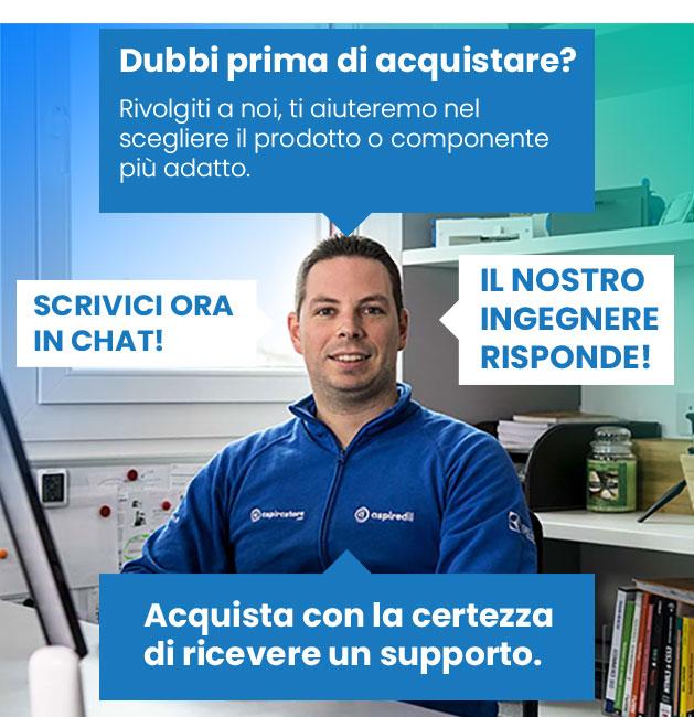 Fai un preventivo impianti aspirazione e ventilazione con Igor Pizzinato di Aspirastore.com