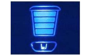 Display LED indicatore contenitore polveri