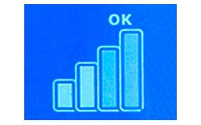 Indicatore delle prestazioni consultabile comodamente dal pannello LED