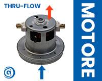 Guida approfondimento motore thru-flow aspirapolvere centralizzato
