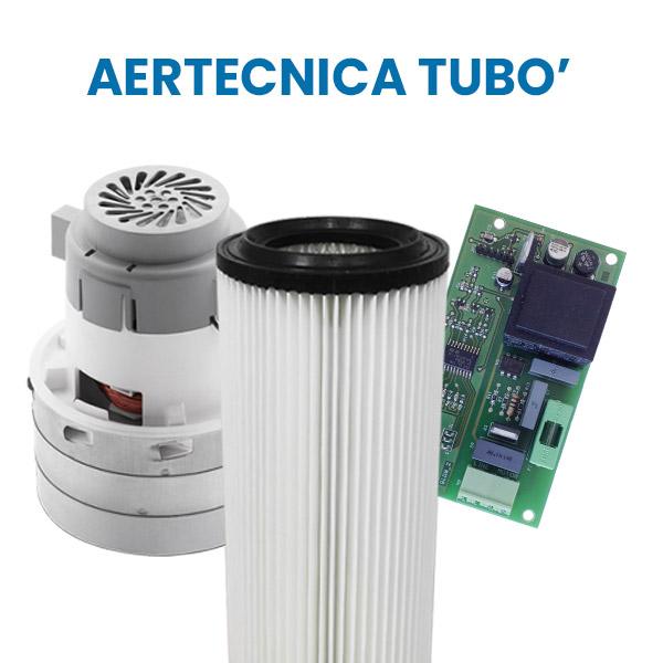 Acquista su Aspirastore.com i ricambi per aspirapolvere centralizzati Aertecnica Tubò