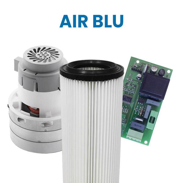 Acquista su Aspirastore.com i ricambi per aspirapolvere centralizzati Air Blu