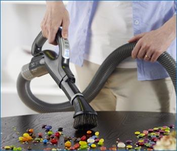 Dettaglio impugnatura tubo flessibile Beam Alliance con variazione di velocità