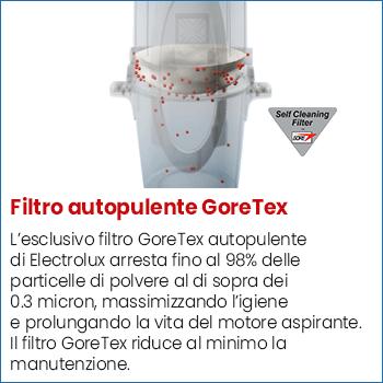 Filtro autopulente Goretex Electrolux Oxygen Elux