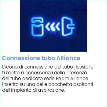 Icona connessione tubo flessibile Beam Alliance