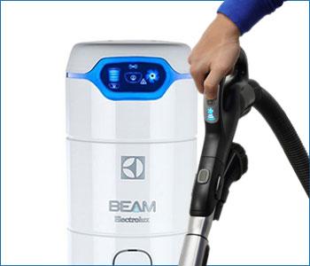 Aspirapolvere centralizzato Beam Electrolux Alliance 625SB bianca fino a 200 mq con pannello led