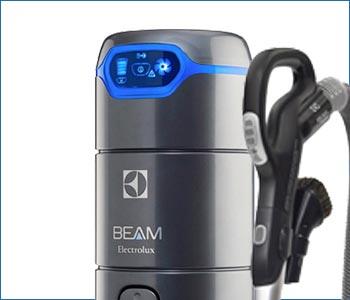 Aspirapolvere centralizzato Beam Electrolux Alliance 625SB fino a 200 mq con pannello led