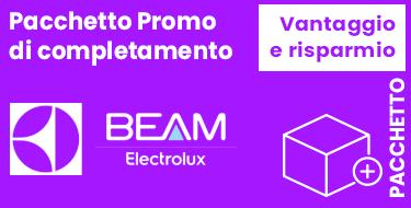 Configura pacchetto promozione aspirapolvere centralizzato Beam Platinum
