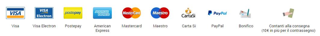 Modalità di pagamento Aspirastore.com