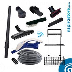 Accessori standard e wireless per aspirazione centralizzata Emmeti