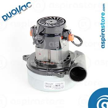 Motore Lamb Ametek 116472-00 116355-00 116213-00 per aspirapolvere centralizzato Duovac