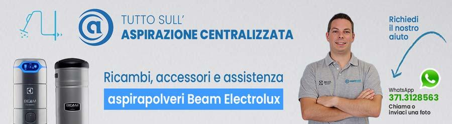 Copertina pagina Brand Beam Electrolux Aspirastore
