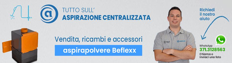 Copertina pagina Brand Beflexx Aspirastore