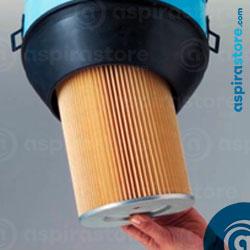 Cambiare il filtro dell'aspirapolvere Emmeti con uno nuovo in poliestere
