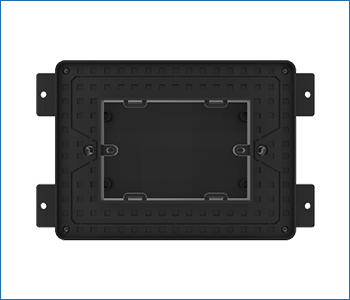 Bocchetta vmc Disappair 503/1006 universale per installazioni su laterizio e cartongesso