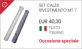 Calza rivestimento protezione tubo flessibile aspirapolvere centralizzato offerta