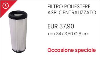 Filtro cartuccia poliestere aspirapolvere centralizzato offerta