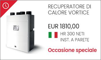 Recuperatore di calore Vortice HR 300 NETI offerta prezzo