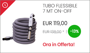 Tubo flessibile con interruttore mt 7 ON-OFF offerta prezzo