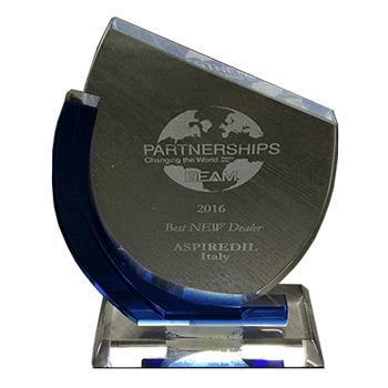 Aspirastore vince il premio come miglior negozio online internazionale di aspirapolvere centralizzati