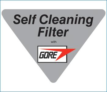 Filtro Goretex autopulente su Beam Platinum
