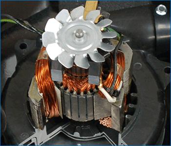 Motore tangenziale professionale Domel su Beam Platinum