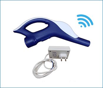 Impugnatura wireless per tubo flessibile aspirapolvere tubo a scomparsa Retraflex