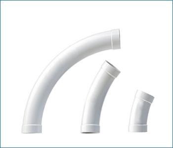Curve speciali a largo raggio Retraflex per impianto aspirazione a scomparsa
