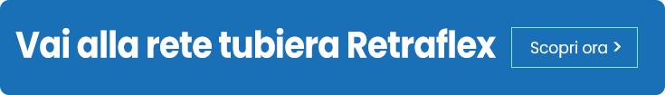 Rete tubiera Retraflex aspirazione centralizzata a scomparsa