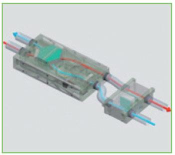 Filtro VORT HA abbinato a unità di recupero calore VORTICE