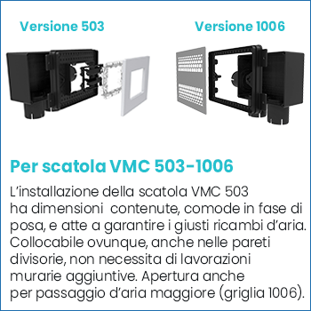 Scatola vmc Disappair 503-1006