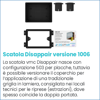 Scatola vmc Disappair 1006