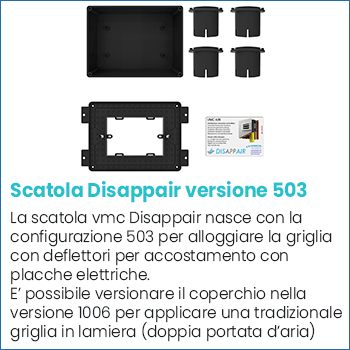 Scatola vmc Disappair 503